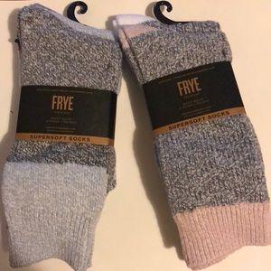 4 pairs-Frye boot super soft socks